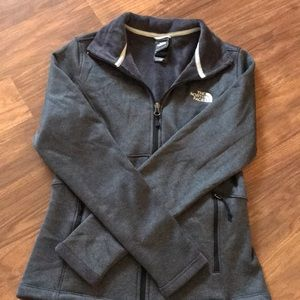 Sweaters - Women's grey full zip up sweater